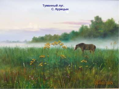 Туманный луг. С. Курицын