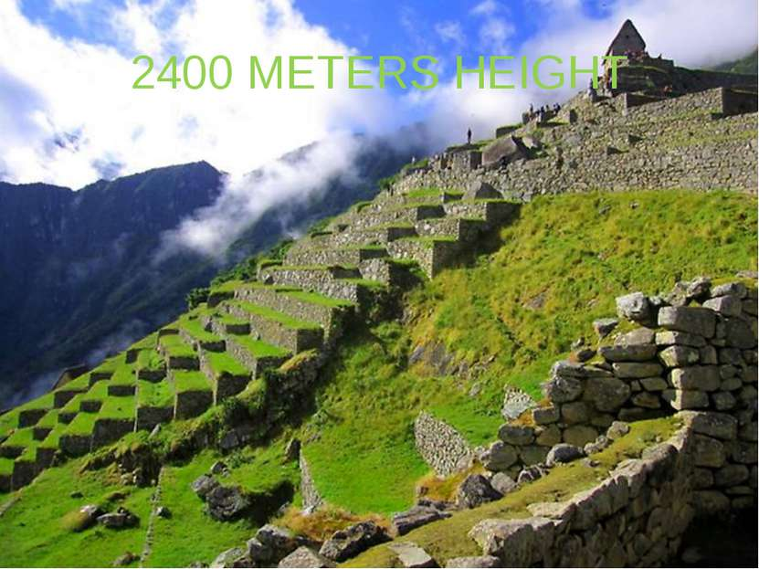 2400 METERS HEIGHT