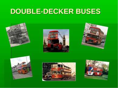DOUBLE-DECKER BUSES