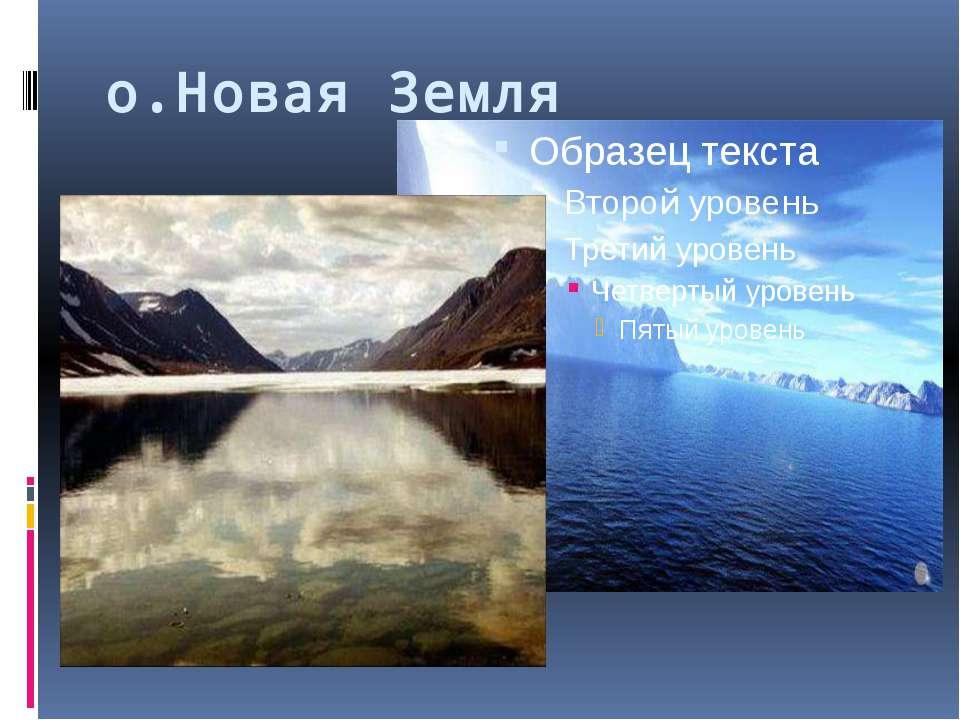 о.Новая Земля