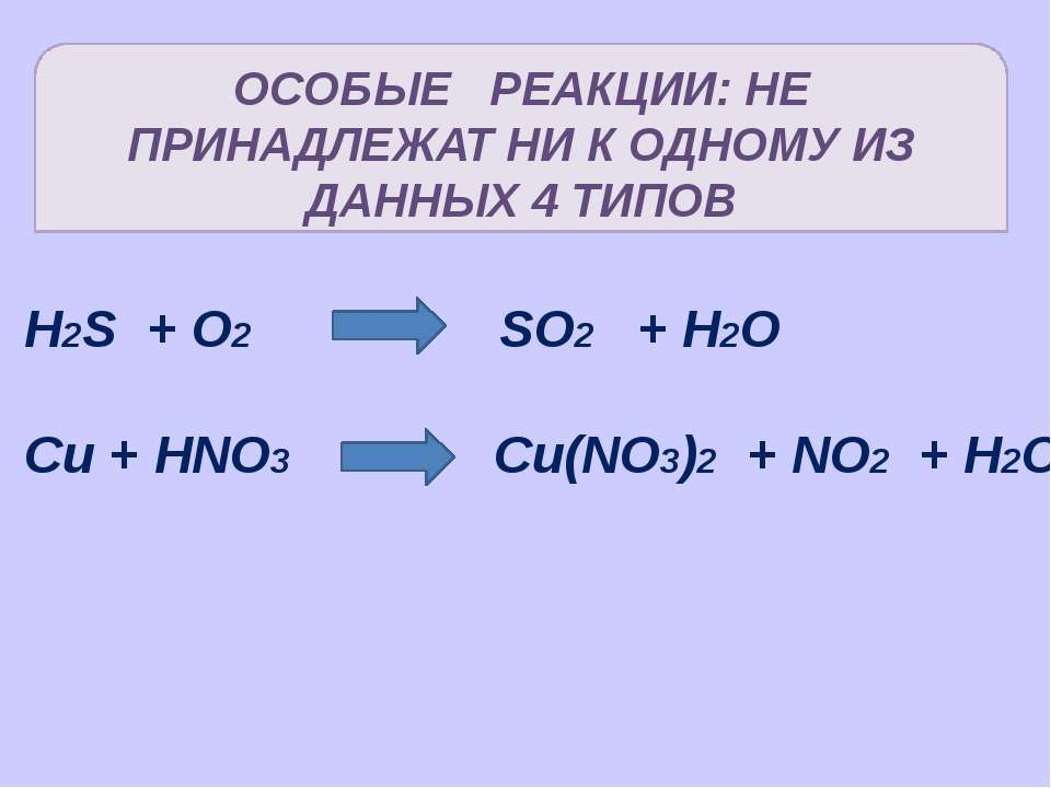 Какая фигура показывает только одну реакцию замещения CuO + Zn ZnS + O2 ZnO +...