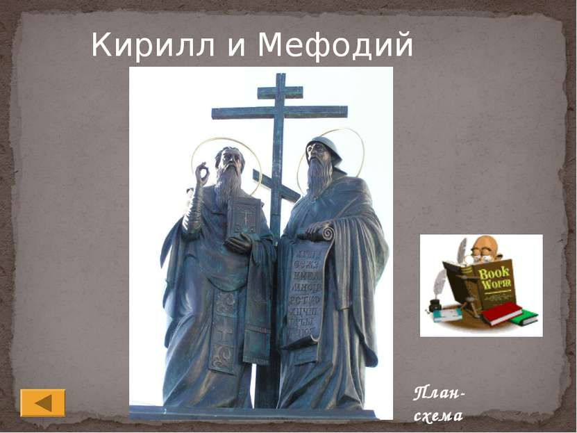 Кирилл и Мефодий План-схема