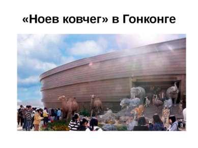 «Ноев ковчег» в Гонконге