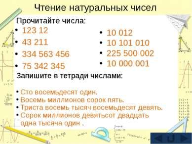 Сравнение натуральных чисел 54 12 544 20 011 125 2 374 65 934 55 12 534 20 10...