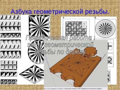 Азбука геометрической резьбы.