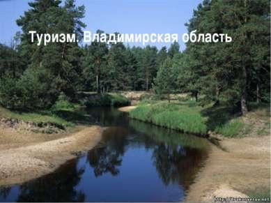 Туризм. Владимирская область