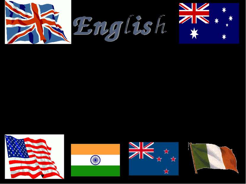 English is the language of international communication. At the English lesson...