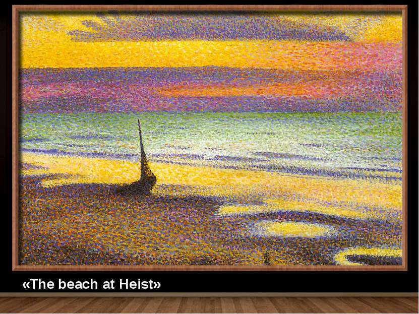 «The beach at Heist»