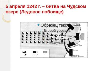 5 апреля 1242 г. – битва на Чудском озере (Ледовое побоище)