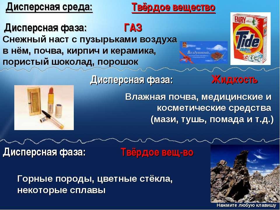 Дисперсная среда: Твёрдое вещество Дисперсная фаза: ГАЗ Снежный наст с пузырь...