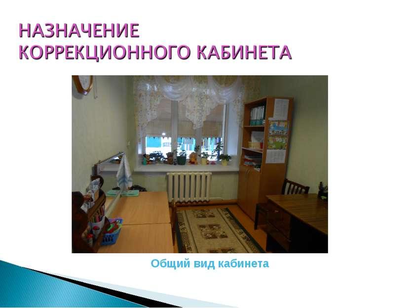 Общий вид кабинета