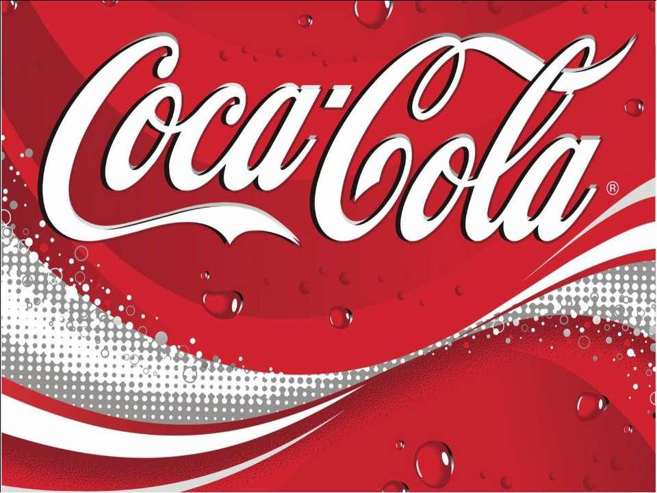 Презентация На Тему Кока Кола