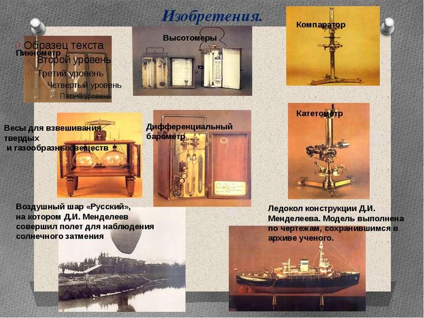 Изобретения. Весы для взвешивания твердых и газообразных веществ Пикнометр Вы...