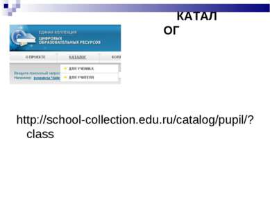 http://school-collection.edu.ru/catalog/pupil/?class КАТАЛОГ