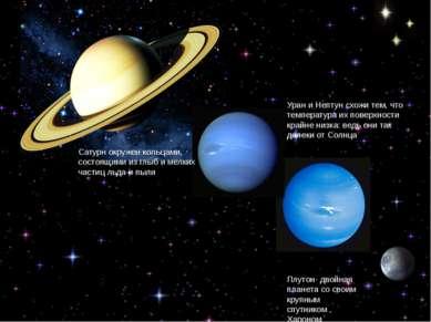 Уран и Нептун схожи тем, что температура их поверхности крайне низка: ведь он...