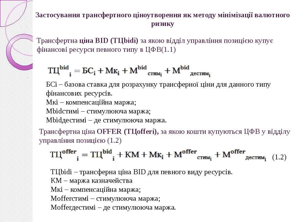 Застосування трансфертного ціноутворення як методу мінімізації валютного ризи...