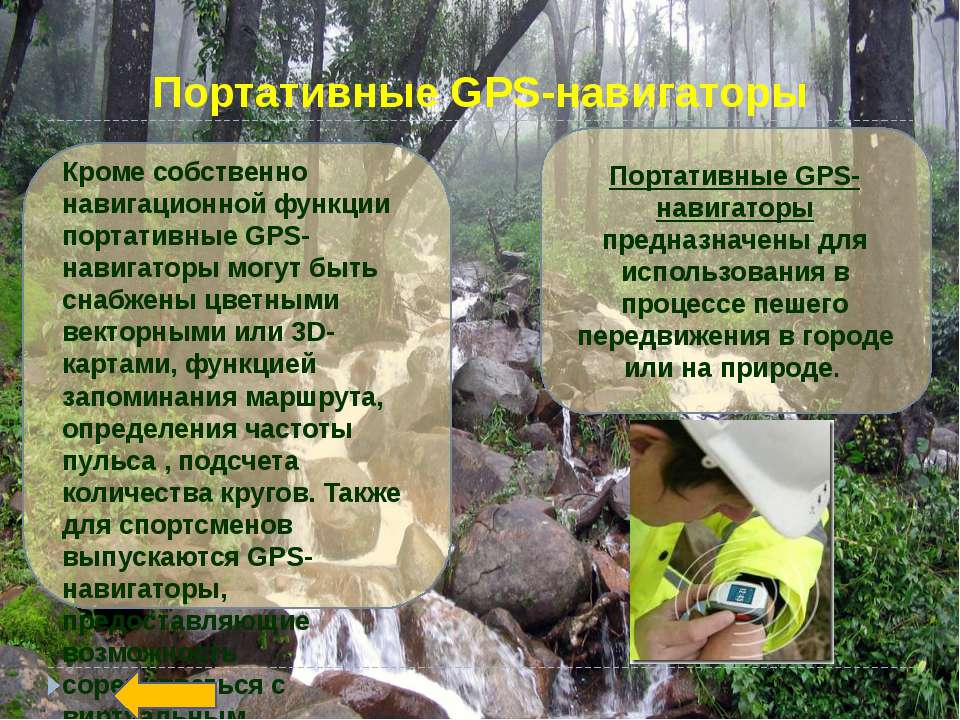 Автомобильные GPS-навигаторы Программное обеспечение позволяет определять мес...