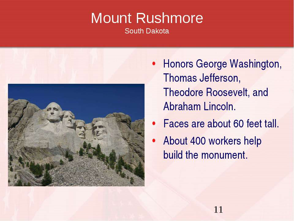 Mount Rushmore South Dakota Honors George Washington, Thomas Jefferson, Theod...