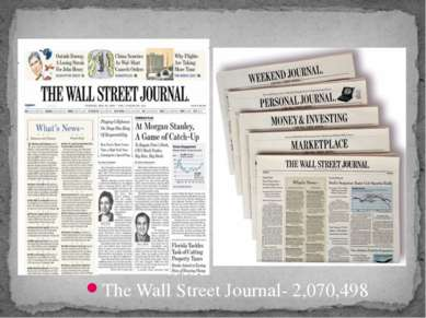 The Wall Street Journal- 2,070,498