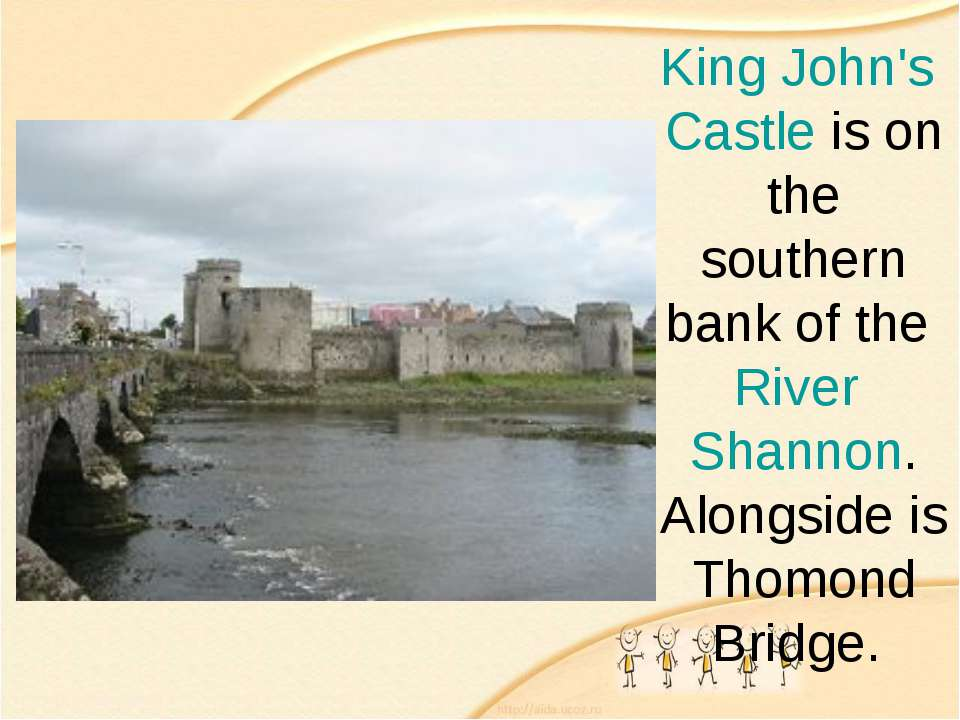 King John's Castle is on the southern bank of the River Shannon. Alongside is...