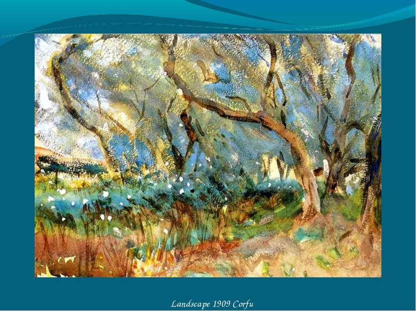 Landscape 1909 Corfu