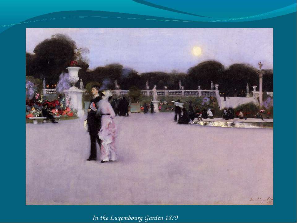In the Luxembourg Garden 1879