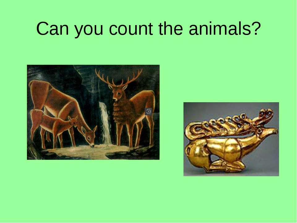Can you count the animals?