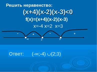 (х+4)(х-2)(х-3)