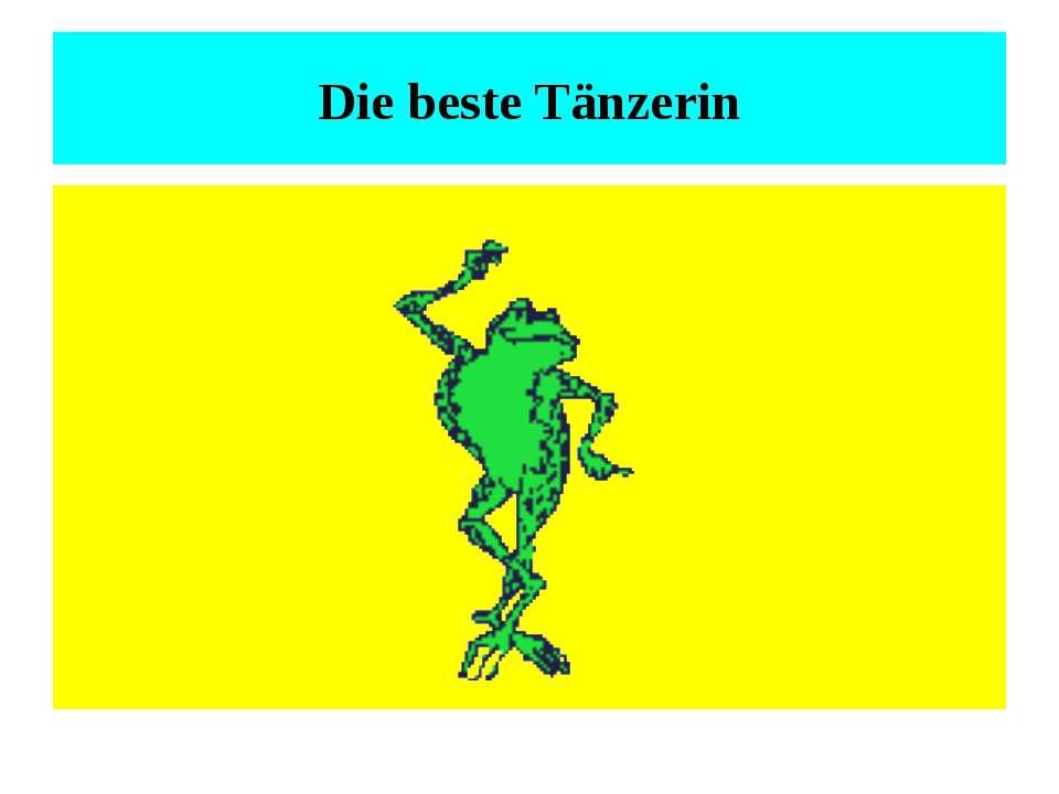 Die beste Tänzerin