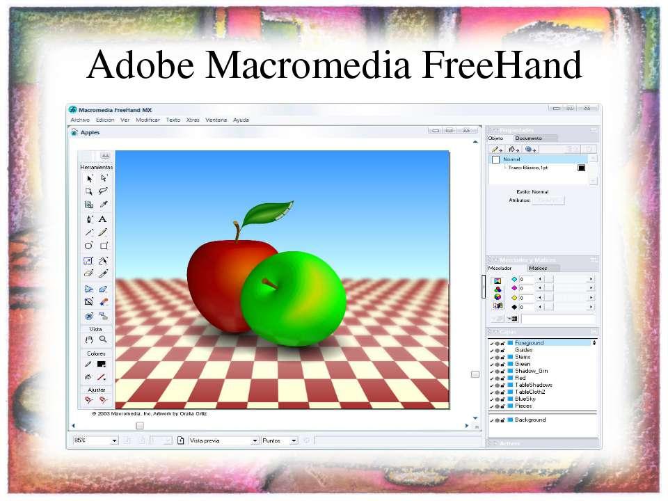 Adobe Macromedia FreeHand