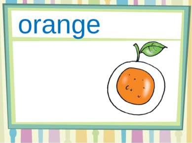 Oo orange
