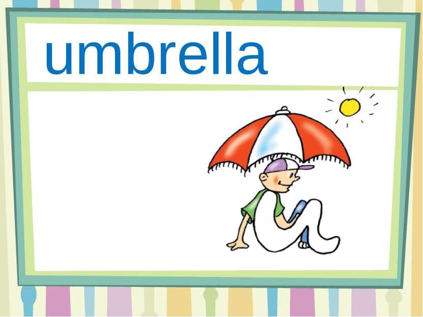 Uu umbrella