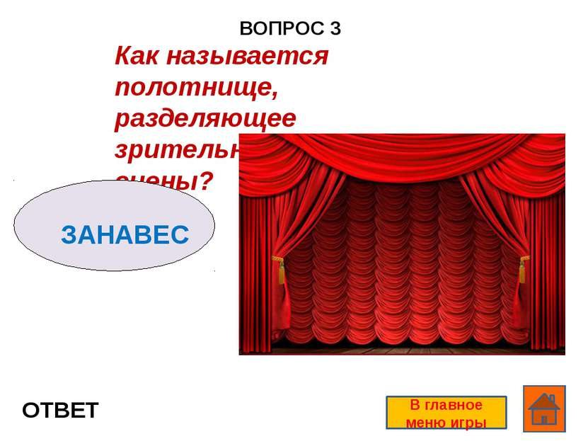 ВОПРОС 1 ОТВЕТ В главное меню игры Как называется вид рекламы, объявление о с...