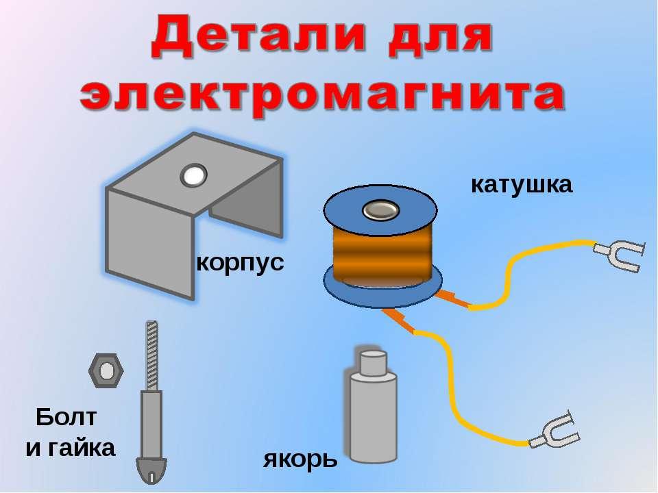 электромагнит с плоской катушкой