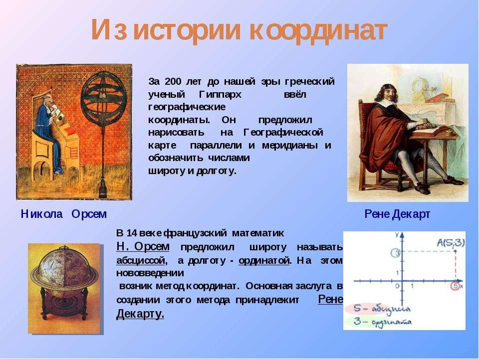За 200 лет до нашей эры греческий ученый Гиппарх ввёл географические координа...