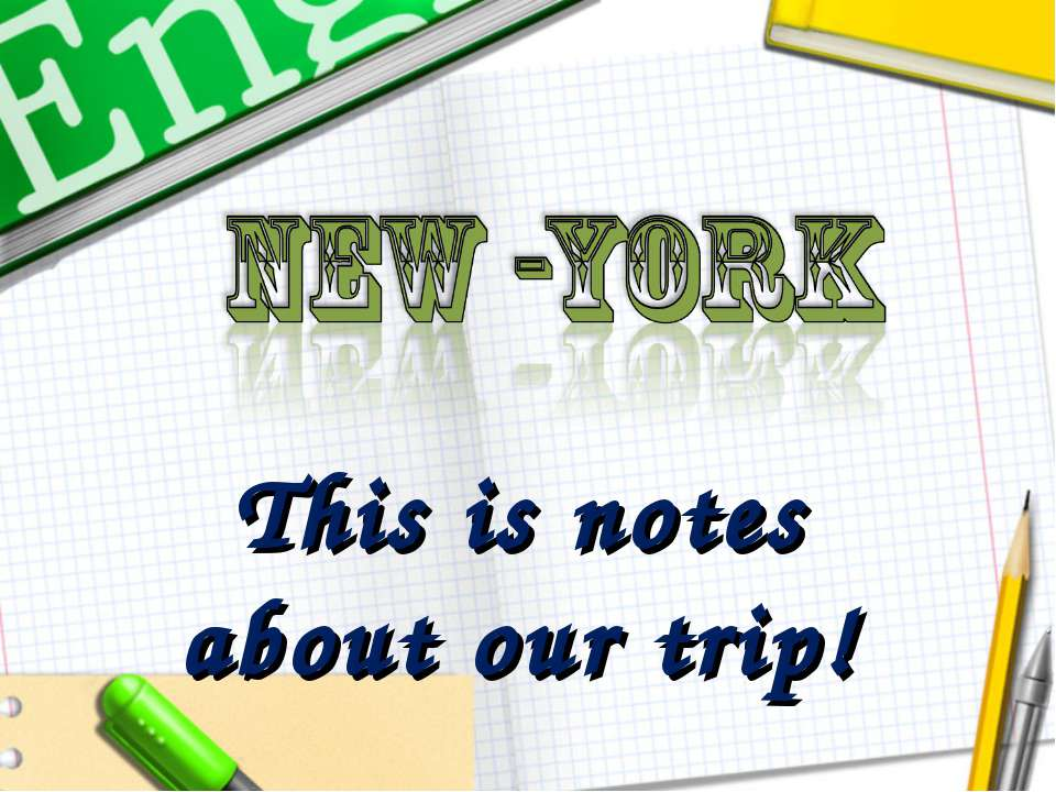 This is notes about our trip!