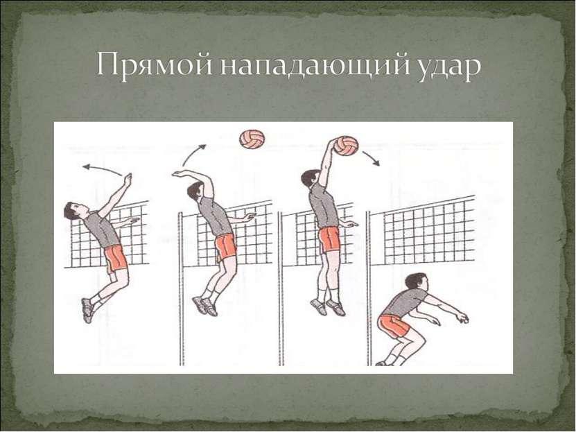 Как сделать удар в волейболе
