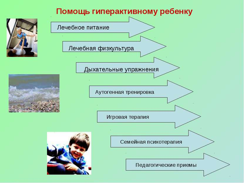 Помощь гиперактивному ребенку