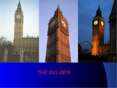 THE BIG BEN Producer by Jaroslav Hubáček