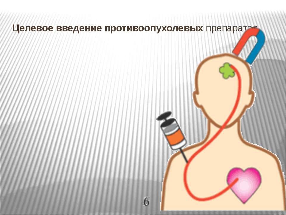 Целевое введение противоопухолевых препаратов
