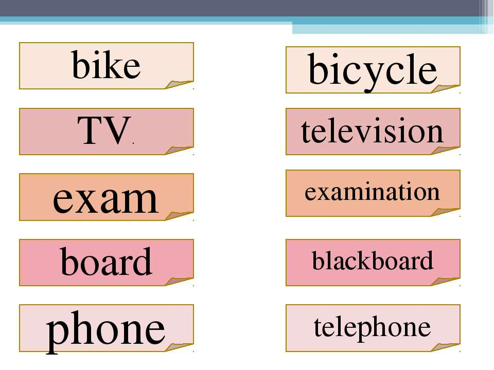 TV. bicycle television exam examination blackboard board telephone phone bike