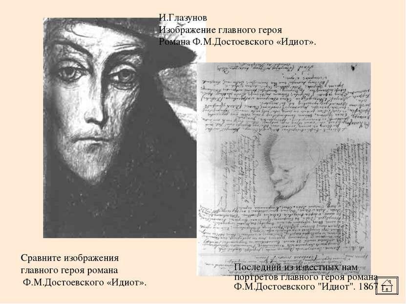 И.Глазунов Изображение главного героя Романа Ф.М.Достоевского «Идиот». Послед...