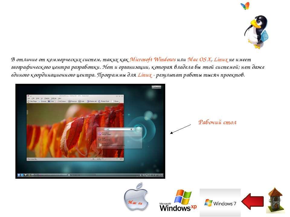 В отличие от коммерческих систем, таких как Microsoft Windows или Mac OS X, L...