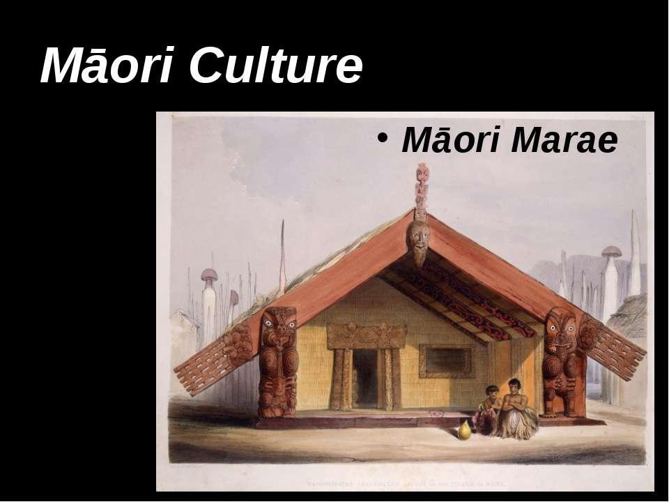 Māori Culture Māori Marae