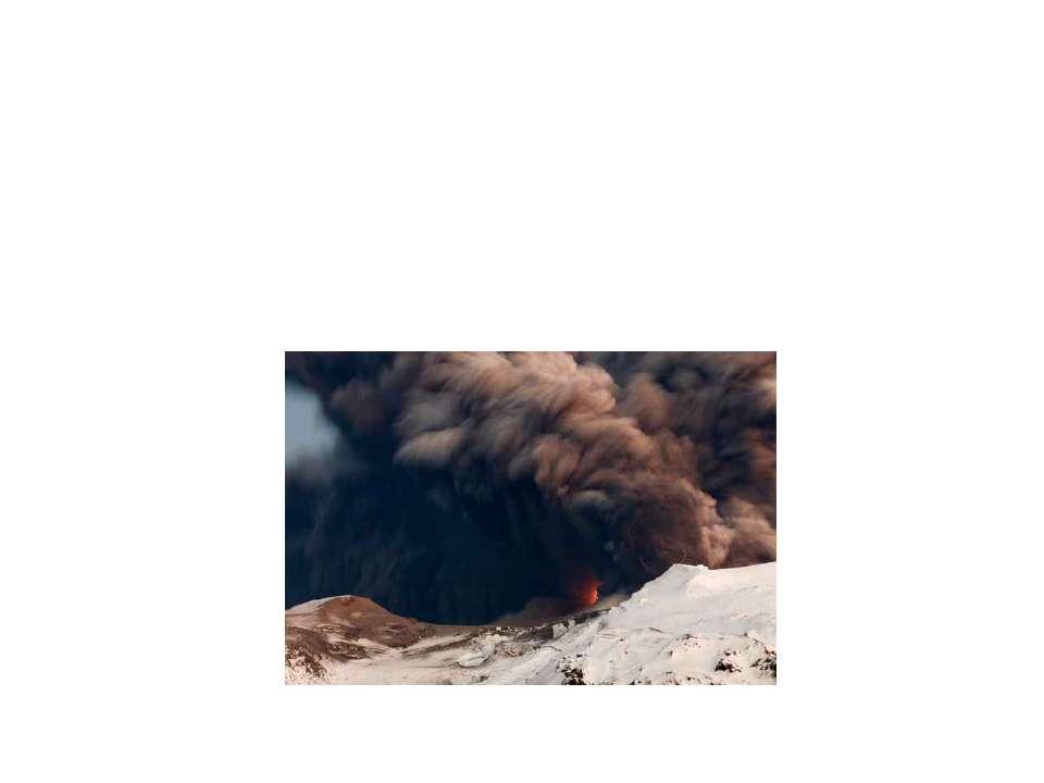 Последствия извержения вулканов. Защита населения..