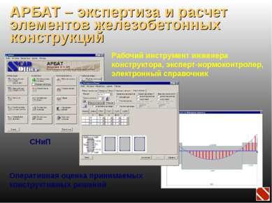 АРБАТ – экспертиза и расчет элементов железобетонных конструкций Рабочий инст...