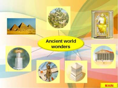 Ancient world wonders