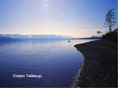 Озеро Таймыр.
