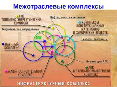 Межотраслевые комплексы