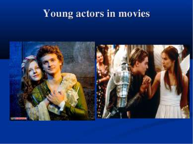 Young actors in movies